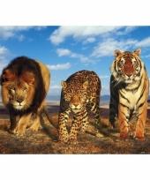 Themafeest dieren poster 61 x 91 5 cm 10077211