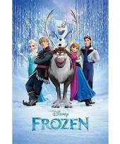 Themafeest frozen poster 61 x 91 5 cm