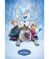 Themafeest frozen poster sven 61 x 91 5 cm