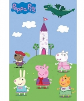 Themafeest peppa pig poster 61 x 91 5 cm 10065199