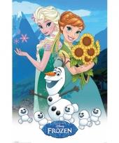 Themafeest poster frozen 61 x 91 5 cm 10065085