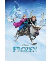 Themafeest poster frozen 61 x 91 5 cm