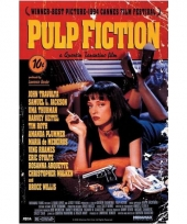 Themafeest pulp fiction poster 61 x 91 5 cm
