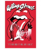 Themafeest rolling stones band poster 61 x 91 5 cm