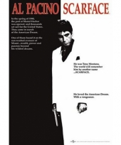 Themafeest scarface poster 61 x 91 5 cm