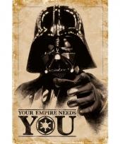 Themafeest star wars poster 61 x 91 5 cm 10063088