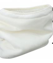 Thinsulate nekwarmers off white