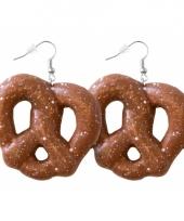 Tiroler oorbellen pretzel