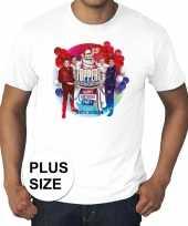 Toppers grote maten wit toppers in concert 2019 officieel shirt heren