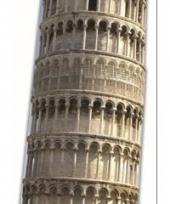 Toren van pisa decoratie bord
