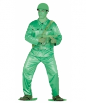 Toy soldier verkleedpak voor volwassenen