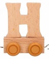 Trein met de letter h