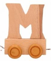 Trein met de letter m