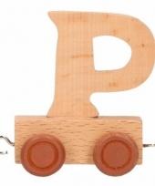 Trein met de letter p
