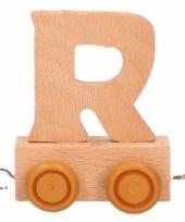 Trein met de letter r