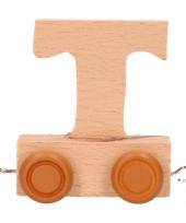 Trein met de letter t