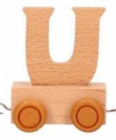 Trein met de letter u