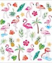 Tropische vogels en deco stickers 37 stuks