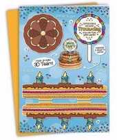 Trouwdag xxl taartkaart