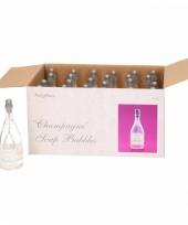 Trouwerij bellenblazen champagne 24x