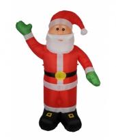 Tuin decoratie kerstman 180 cm