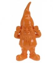 Tuin kabouters oranje 28 cm