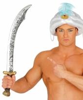 Turks zwaard goud en zilver