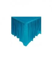 Turquoise blauwe tafelranden
