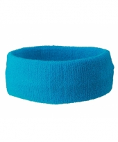 Turquoise gekleurde hoofdbandjes