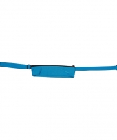 Turquoise reis portemonnee riem 80 107 cm