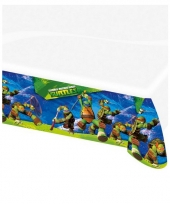 Turtles thema plastic tafelkleed