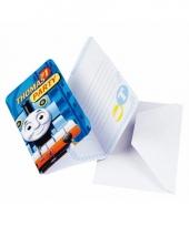 Uitnodiging kaarten thomas de trein