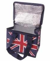 Union jack united kingdom print blikjeskoeler koeltassen voor sixpack 6 blikken