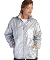 Unisex zilveren jas