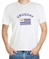 Uruguay vlaggen t-shirts