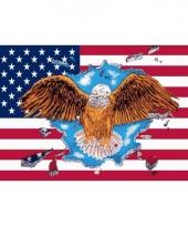 Usa adelaar vlaggen