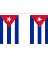 Uxe cubaanse vlaggenlijn