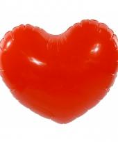 Valentijn decoratie hart opblaasbaar