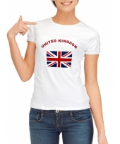 Verenigd koninkrijk vlag t-shirts dames