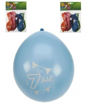 Verjaardag ballonnen 7 jaar