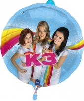 Verjaardag folieballon k3