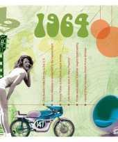 Verjaardagskaart met geboorte jaar 1964