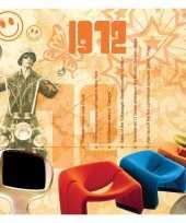 Verjaardagskaart met geboorte jaar 1972