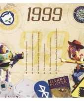 Verjaardagskaart met geboorte jaar 1999