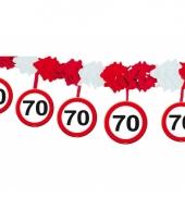 Verkeersborden slinger 70 jaar