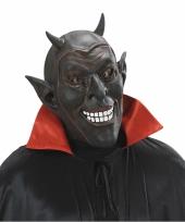 Verkleed eng duivel masker van latex 10075425