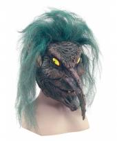 Verkleed eng geesten masker van latex