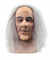 Verkleed opa masker van latex