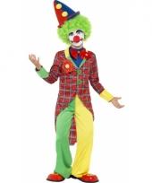 Verkleed outfit clown voor kinderen