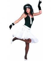 Verkleed petticoat voor dames wit